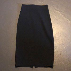 Zara black skirt size s NWT
